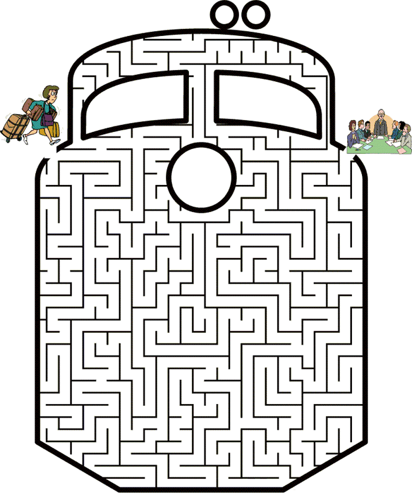 maze puzzles for kids train | K5 Worksheets | Mazes for ...