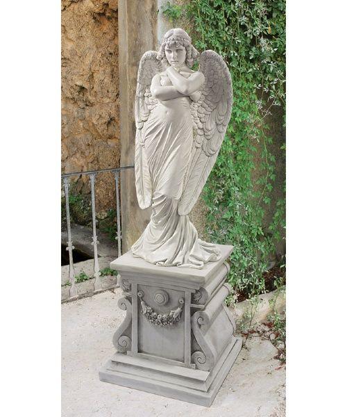 1882 Monteverde Angel Statue - Garden Statues at Hayneedle