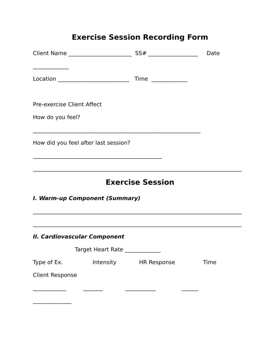 7 Editable Exercise And Diet Log Templates Makeoverfitness Llc In 2021 Personal Trainer Medical History Person
