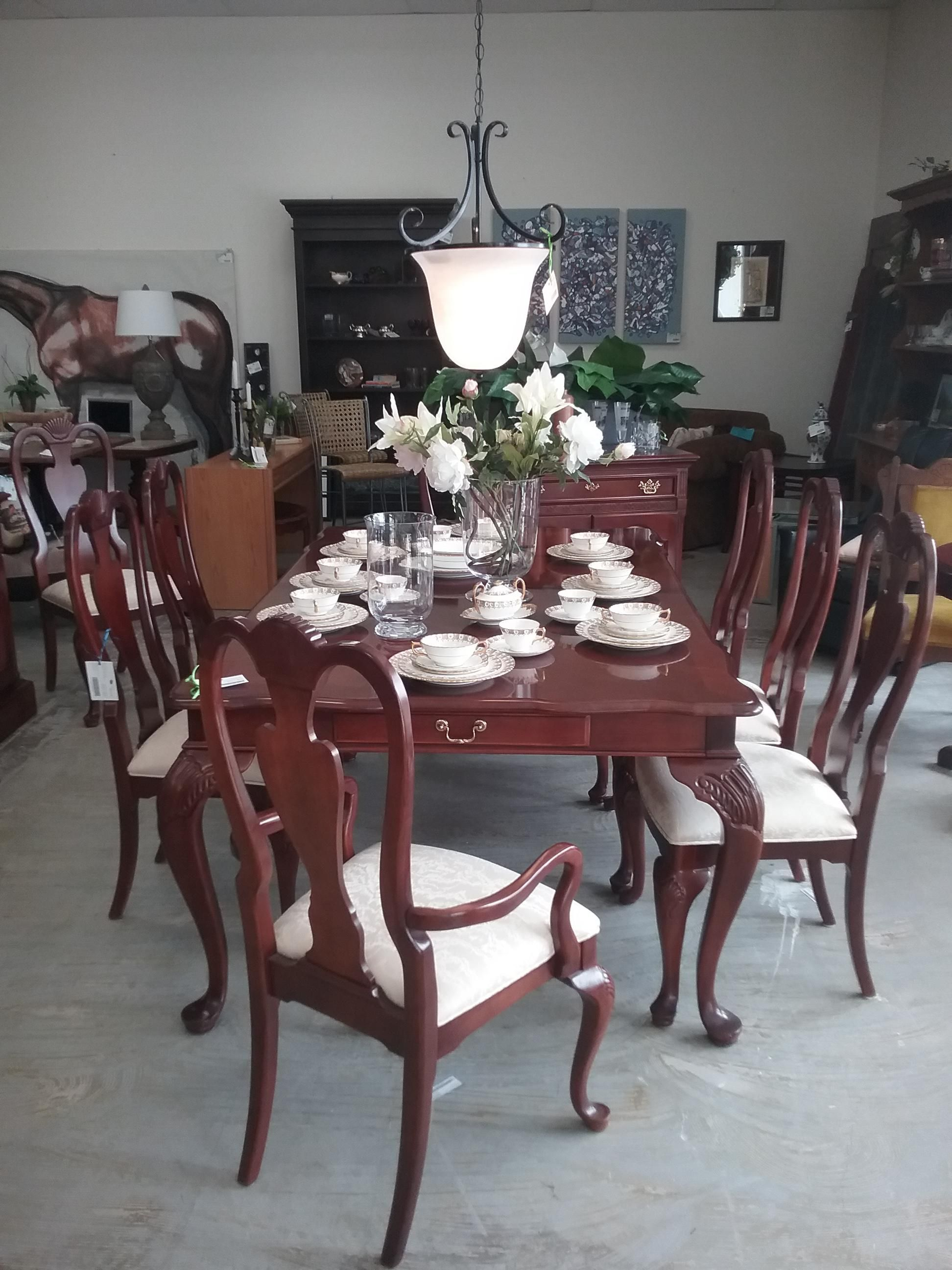 Stanley Dining Table 10 Chairs The Millionaire S Daughter