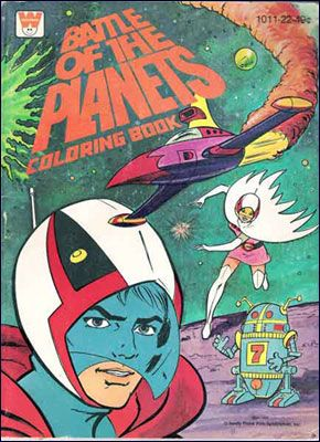 Battle of the Planets Coloring Book   Gatchaman   Battle of the ...