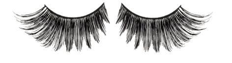 super long lashes