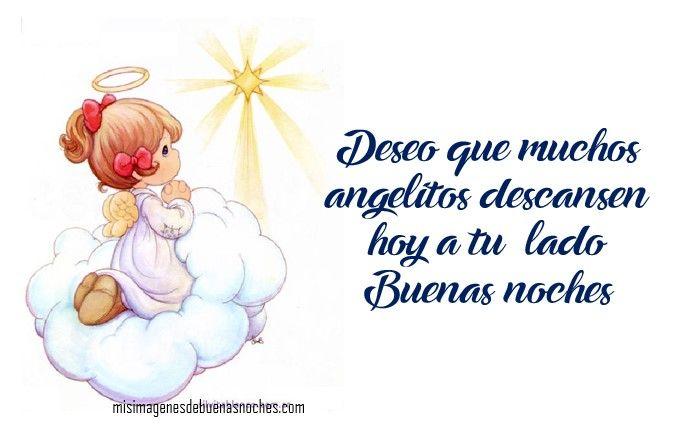 Imagenes De Buenas Noches Con Angelitos A Los Pies De La Virgen
