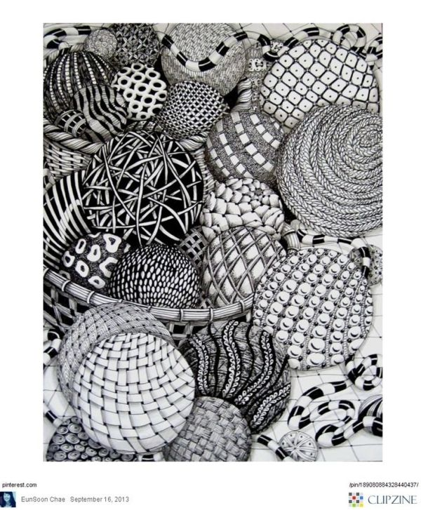 Zentangle Patterns \u0026 Ideas by nang.56