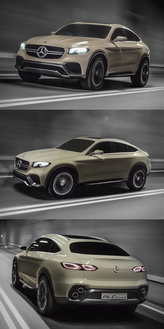 Mercedes Benz Concept Glc Coupe Most Luxurious Suvs In The World
