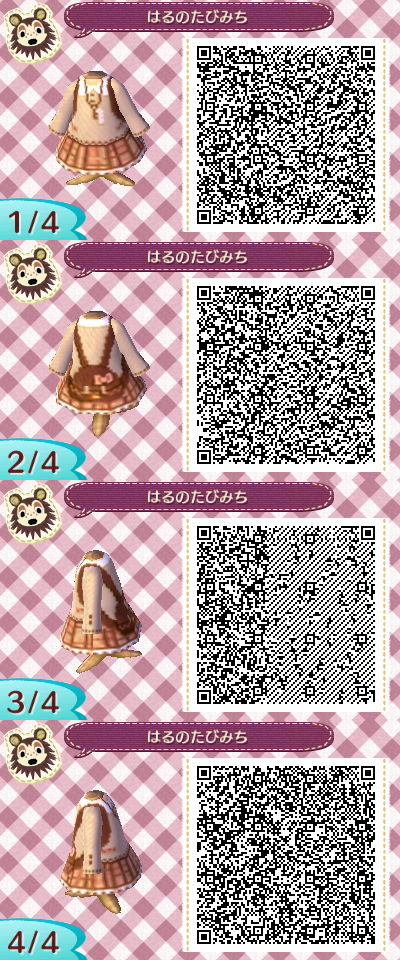 Très Qr code robe chocolat ACNL | Animal crossing new leaf | Pinterest  DM19
