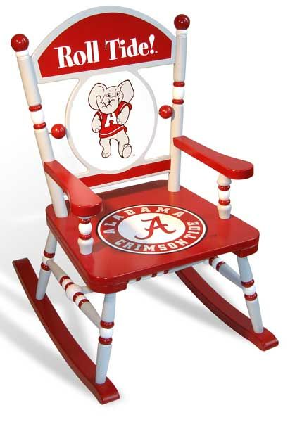 Phenomenal University Of Alabama Rocking Chair Rocking Chair Alabama Ibusinesslaw Wood Chair Design Ideas Ibusinesslaworg