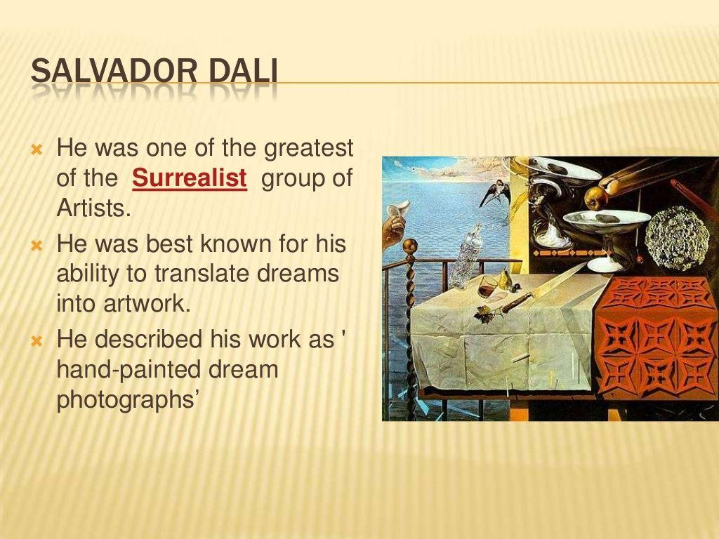 Salvador Dali For Kids In