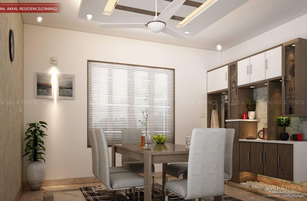 Dining Area Dining Room Interior Design Kochi Ernakulam