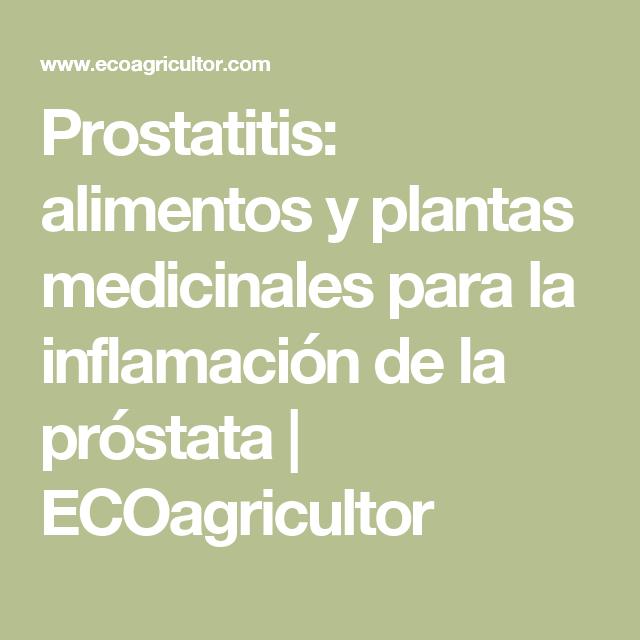 prostatitis uretritis alimentos para evitar
