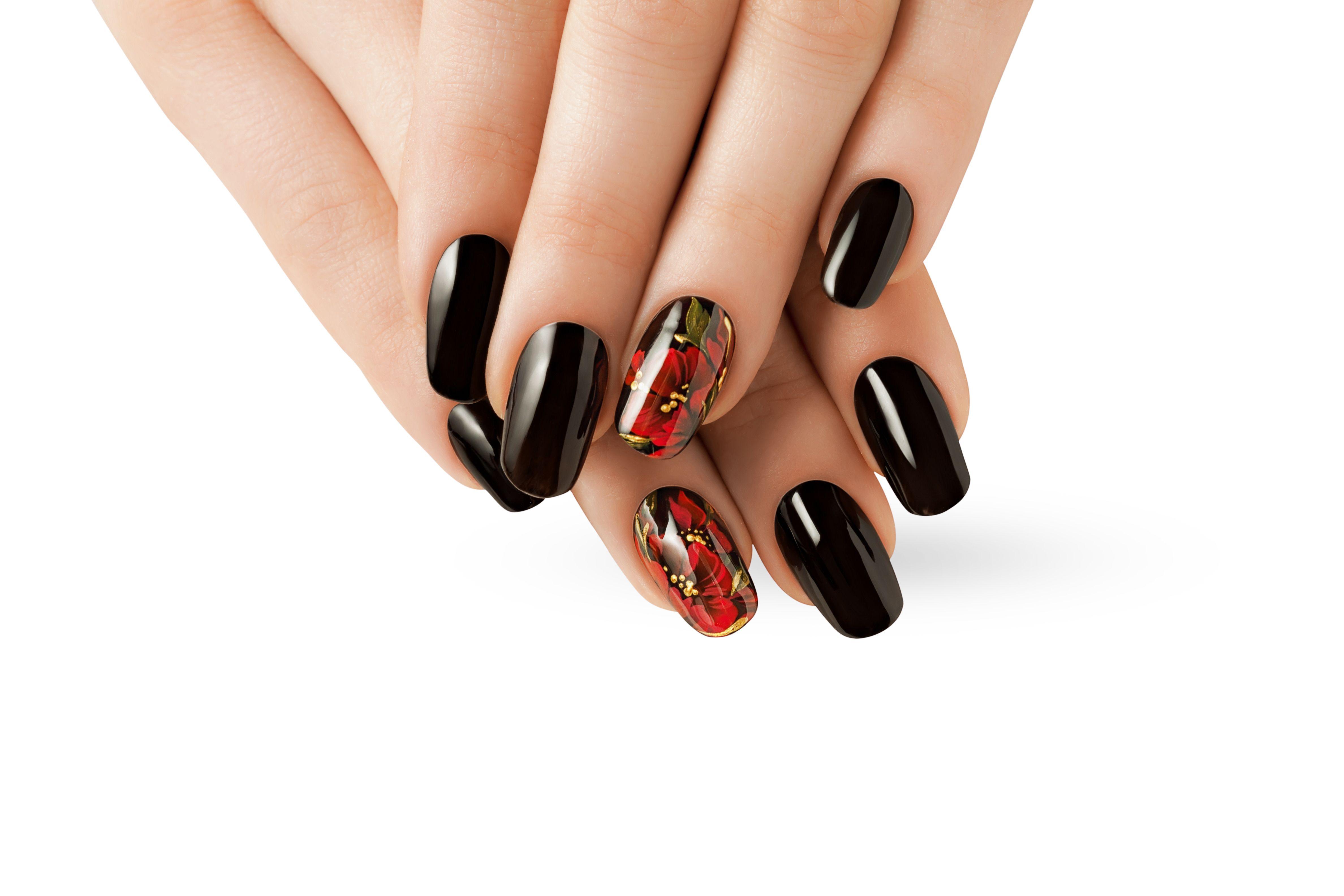 Beautiful Fake Nail Designs -   Beauty secrets