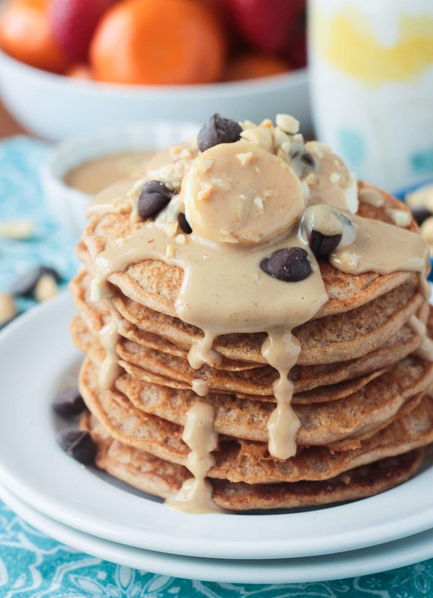 peanut butter pancakes dairy free recipe pancakes. Black Bedroom Furniture Sets. Home Design Ideas