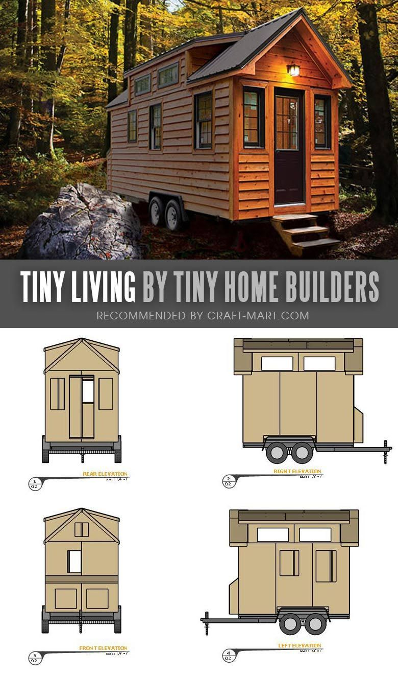tiny house trailer tiny living by tiny home builders enroll in rh pinterest com