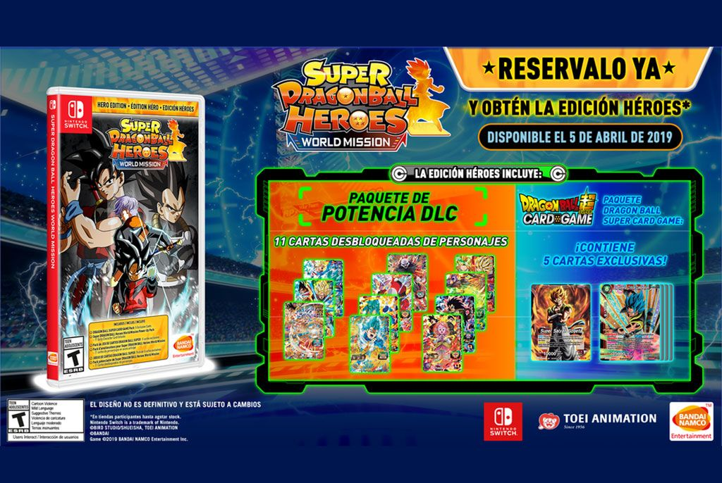 Super Dragon Ball Heroes World Mission Tendrá Una Edición Héroes Dragones Juegos De Cartas Heroe