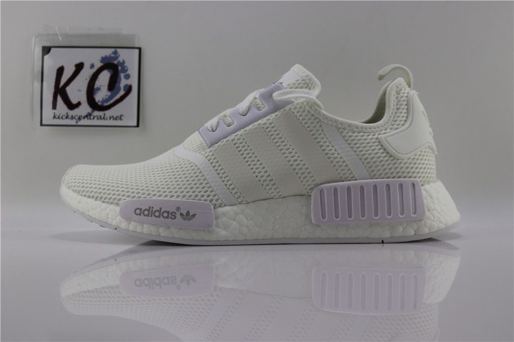 "best service 5569d a14b2 Adidas NMD R1 Mesh 3M ""Triple White"" S79166 