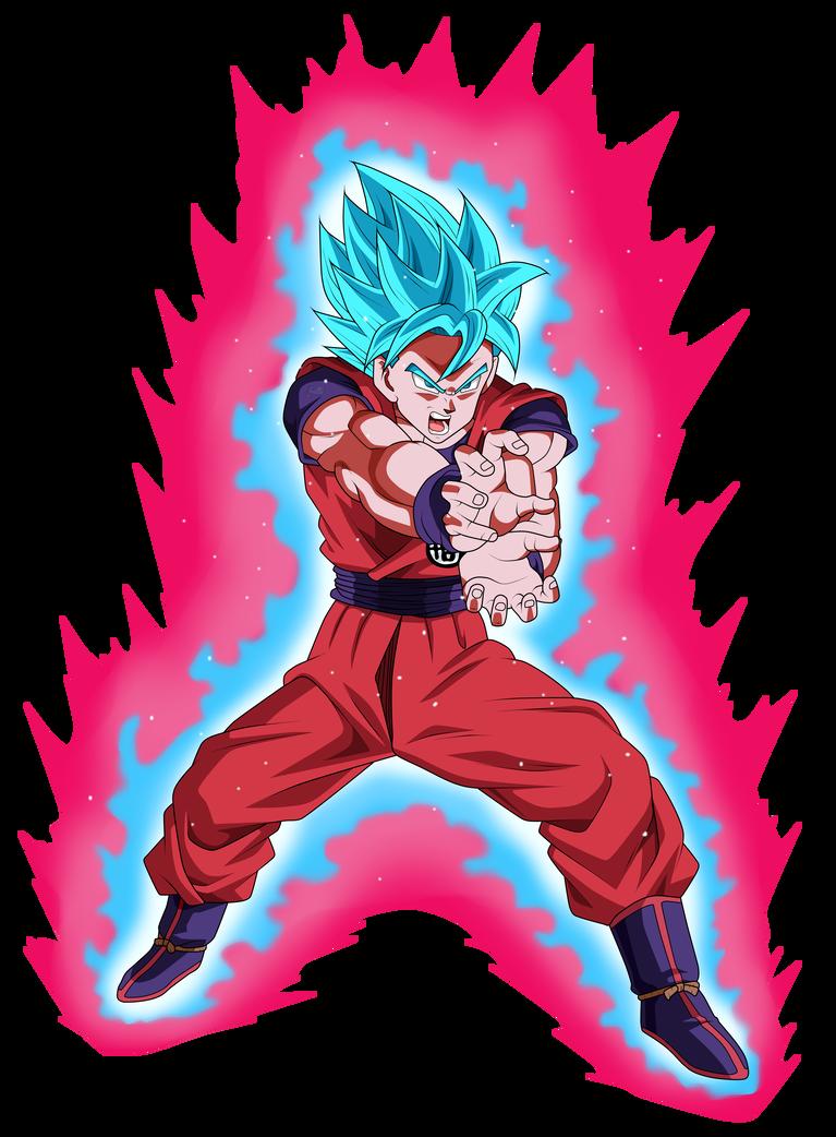 Goku Super Saiyan Blue Kaioken By Chronofz Desenhos Dragonball Desenho De Anime Desenhos De Anime