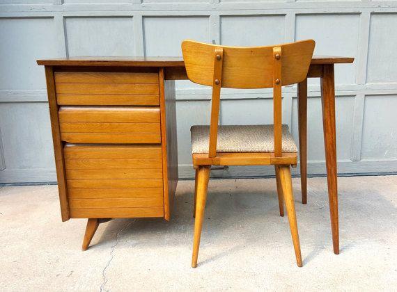 1950s viko baumritter mid century modern desk chair midcentury rh pinterest com