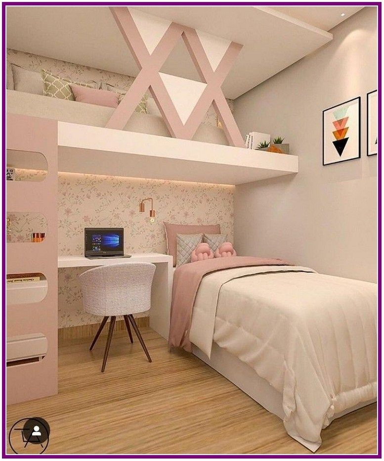 26+ Fantastic Small Apartment Bedroom College Design Ideas and Decor images