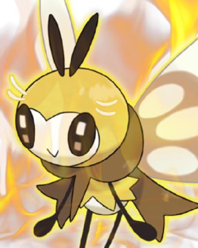 Ultra Pokemon Sun And Moon Totem Ribombee Pokemon Sun Pokemon Kawaii Art