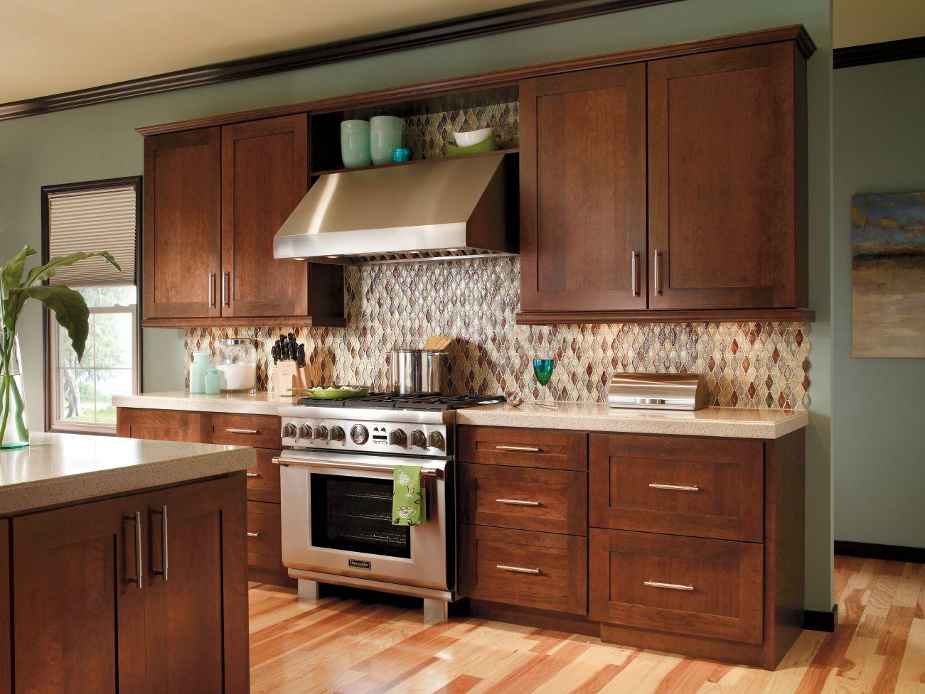Modern Kitchen Cabinets Cherry transitional modern kitchen cabinets that can read shaker or