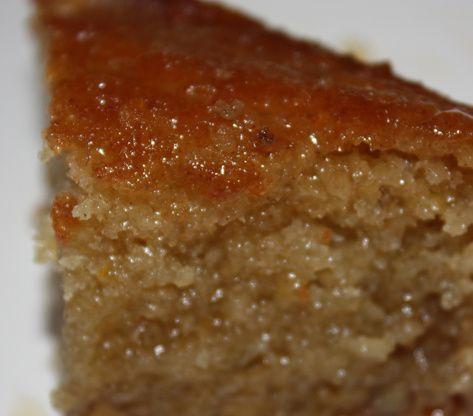 Greek Honey Cake Recipe  - Greek.Food.com #honeycake