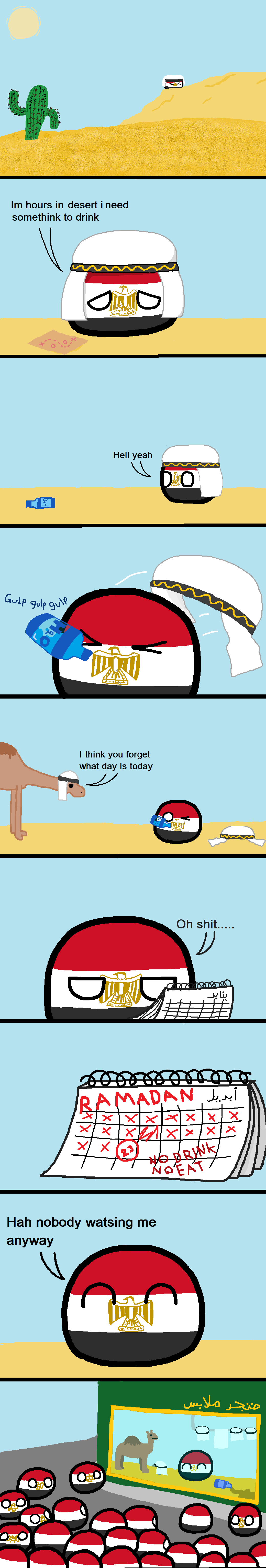 Italian Invasion Of Egypt Polandball Wiki Fandom