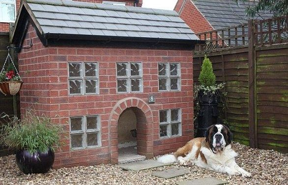 25 Luxury Doghouses We D Live In Dog House Diy Cool Dog Houses
