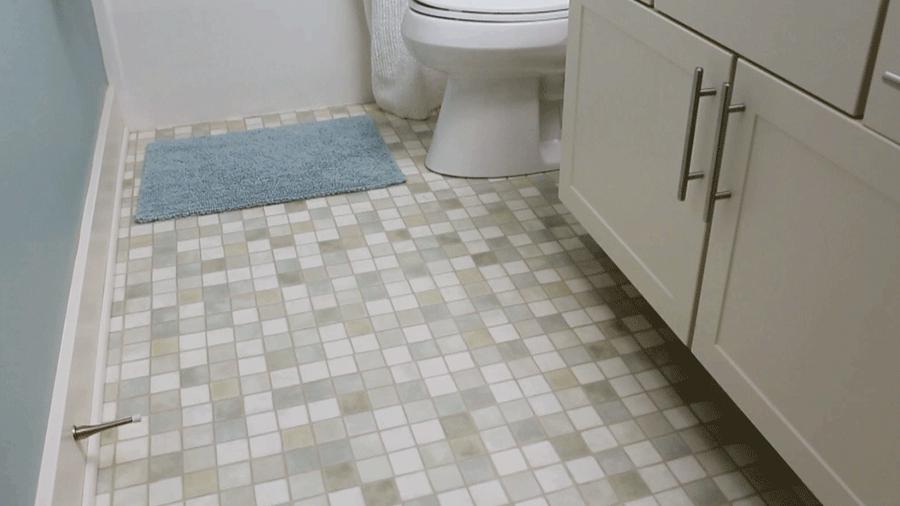 Photo On How to Clean a Bathroom Floor Cleanses Cleaning tips and The morning