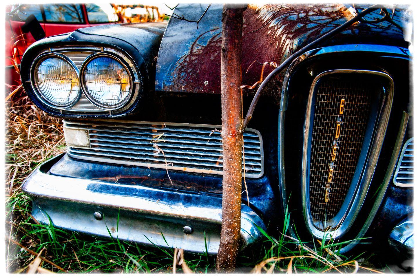 Wrecked Edsel  #unstarvingartist #originalphotography