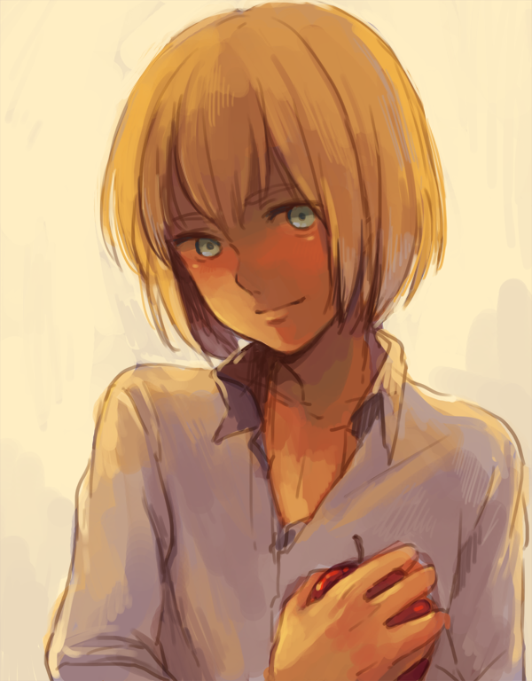Okay but Armin is super gorgeous here ❤
