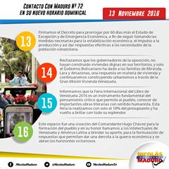@DrodriguezVen : RT @NicolasMaduro: Comparto con ustedes vídeo resumen del programa del Domingo...compártelo por las redes...con la Verdad Venceremos   https://t.co/fY6szTrz7s