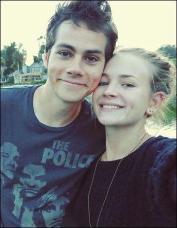 hvor lenge har Dylan o Brien vært dating Britt Robertson Jeg vil gå på en datingside