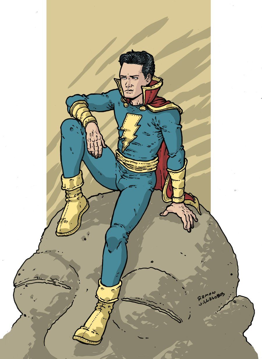 Captain Marvel Jr Freddy Freeman By Ramonvillalobos Deviantart Com