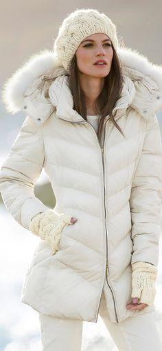 MADELEINE DOWN JACKET - love winter white! | My Style | Pinterest ...