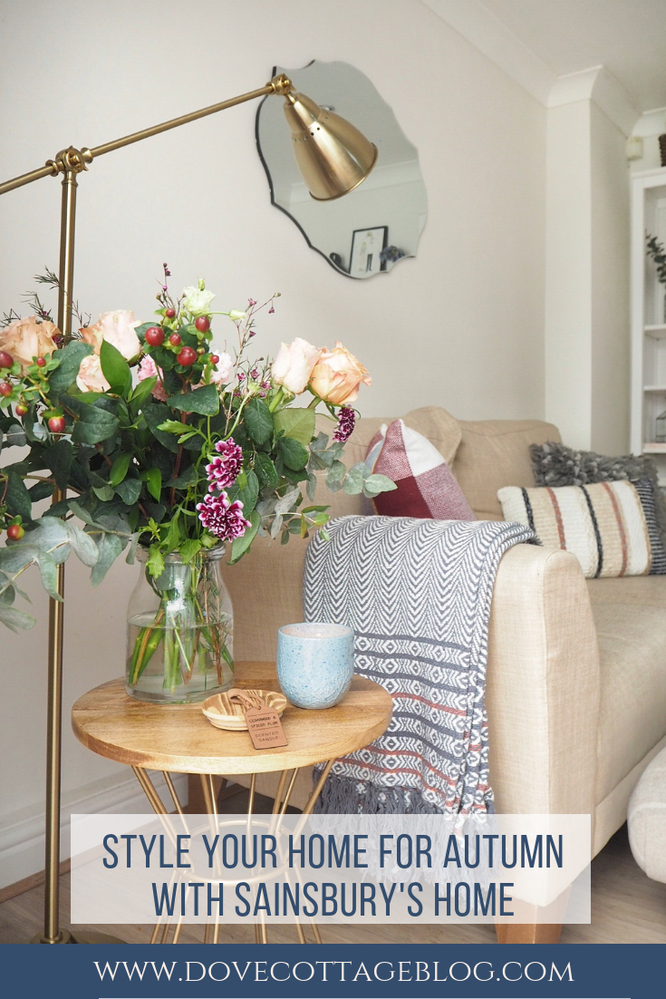Style your home for autumn with sainsburyus home small space with