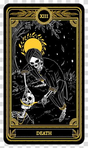 Major Arcana Tarot Death The Star The Hanged Man Tarot Cards Transparent Background Png Clipart Tarot Cards Art Tarot Death Tarot Card Tattoo