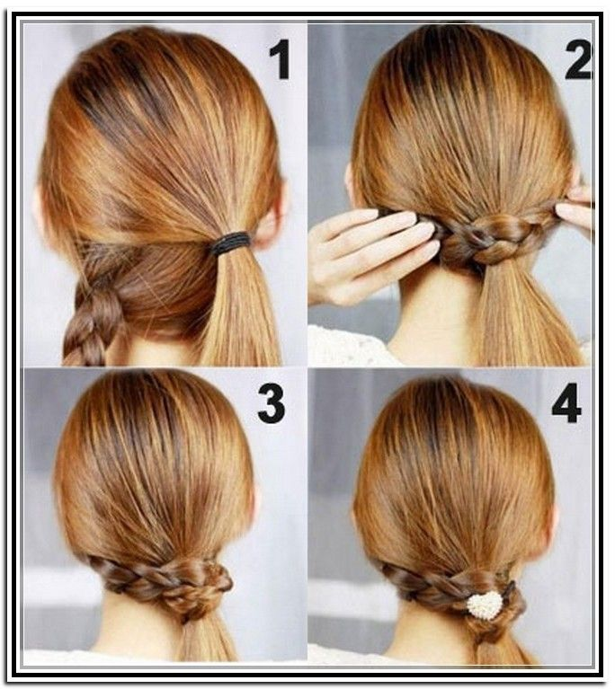 Stupendous 1000 Images About Easy Medium Length Wedding Hairstyles On Hairstyles For Men Maxibearus
