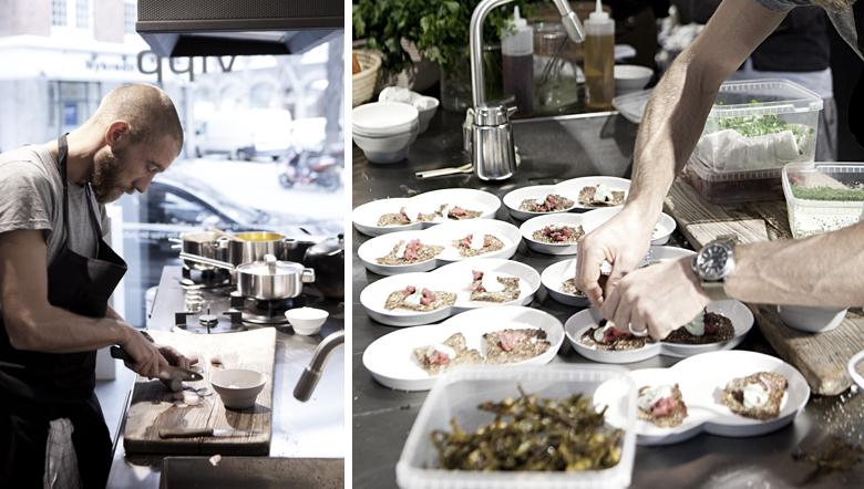 mikkel karstad - foodstyling in the vipp kitchen
