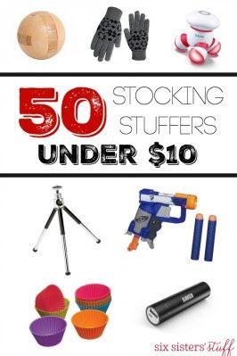 50 Stocking Stuffers under $10 #stockingstuffersforadults