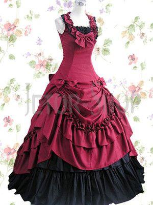 Abendkleid Lolitakleid Ballkleid Party Kostüm Empire Korsett Kleid Maxikleid gr | eBay