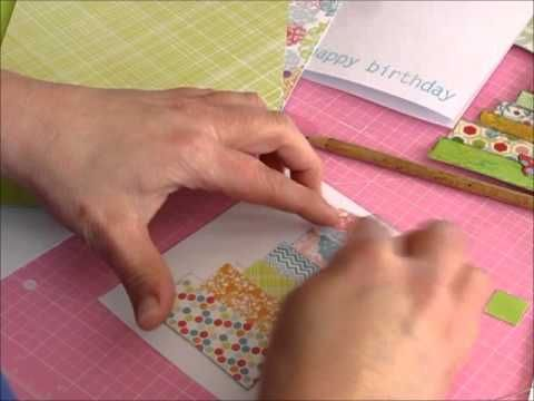 Card making video tutorial mixed media collage paper embellishments card making video tutorial mixed media collage paper embellishments video m4hsunfo