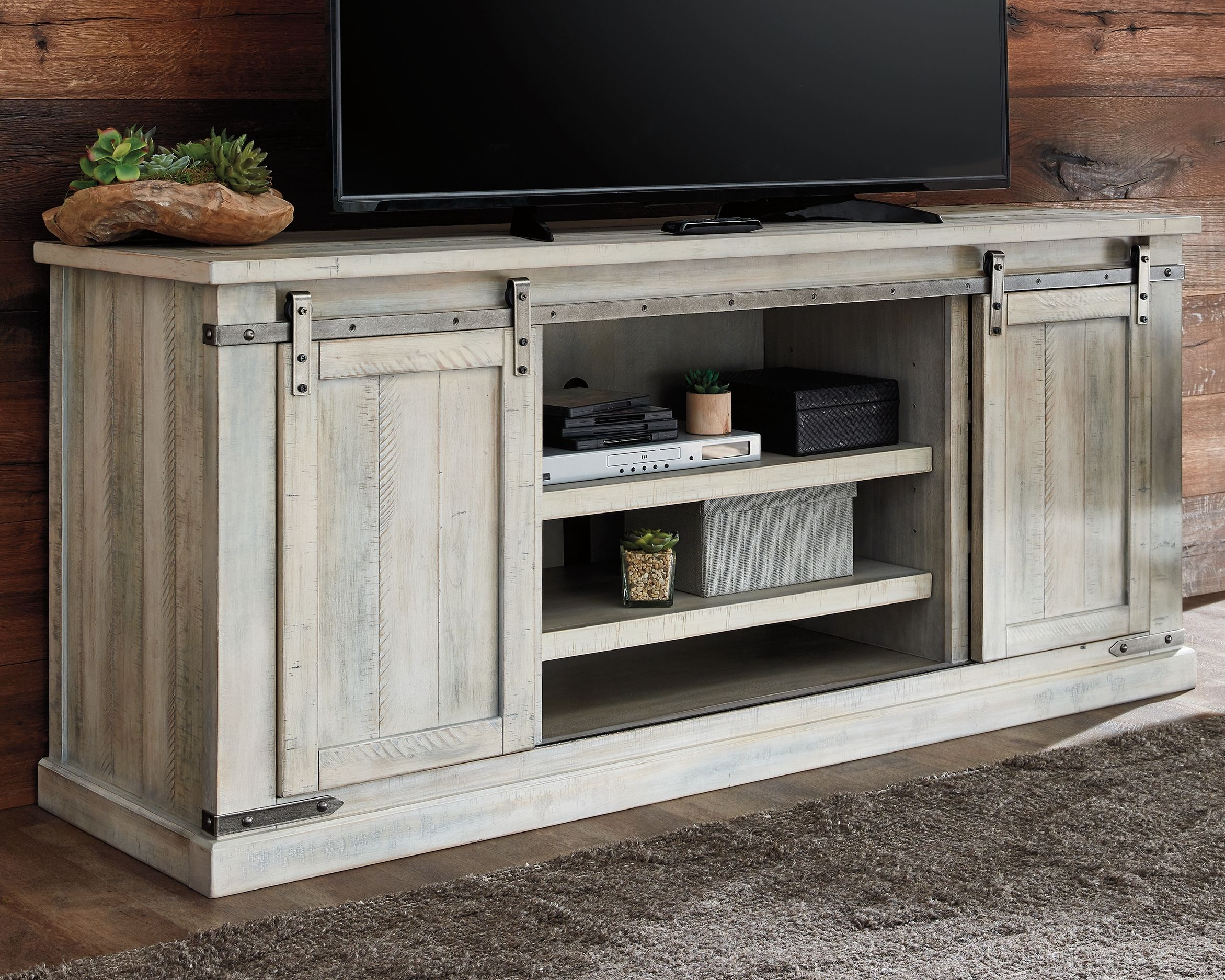 Carynhurst 70 Tv Stand Ashley Furniture Homestore Large Tv Stands Tv Stand White Wash 30 inch high tv stands