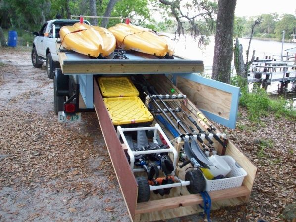 I am looking for a kayak trailer that i can still haul for Fishing kayak trailer