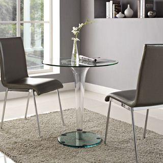 gossamer dining table by modway pedestal downtown lofts and apt ideas rh pinterest com