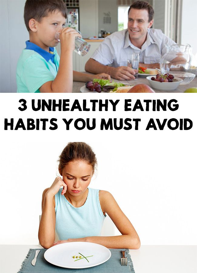Have you ever heard the food coma? It is when you feel sleepy and tired after you eat a big meal. 3 Unhealthy Eating Habits You Must Avoid!