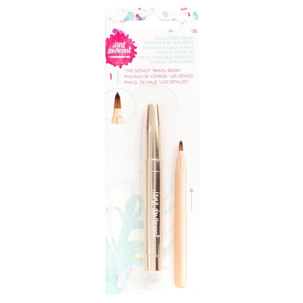 Jane Davenport The Details Travel Brush Watercolor Kit Travel