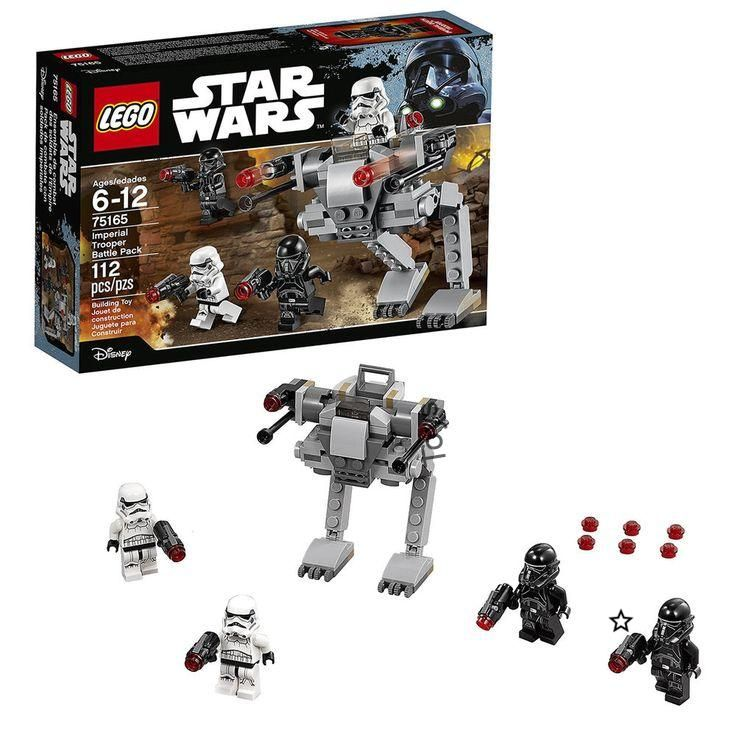 Details about NEW LEGO STAR WARS 75165 IMPERIAL TROOPER BATTLE PACK STORMTROOPER MINIFIGURES Wars Imperial Trooper Battle Pack 4 Minifigures LEGO Children Boy Toy Gifts