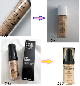 Beauty By Kiki85: Drugstore Dupes for High end Makeup - The Face / Primer & Foundations