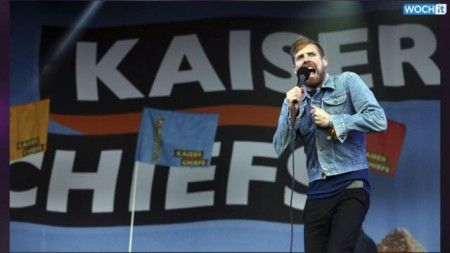 Kaiser Chiefs Gets The Music Going At Glastonbury Festival