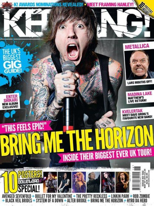 Kerrang Cover | Editorial Design | Pinterest | Covers. and Searches